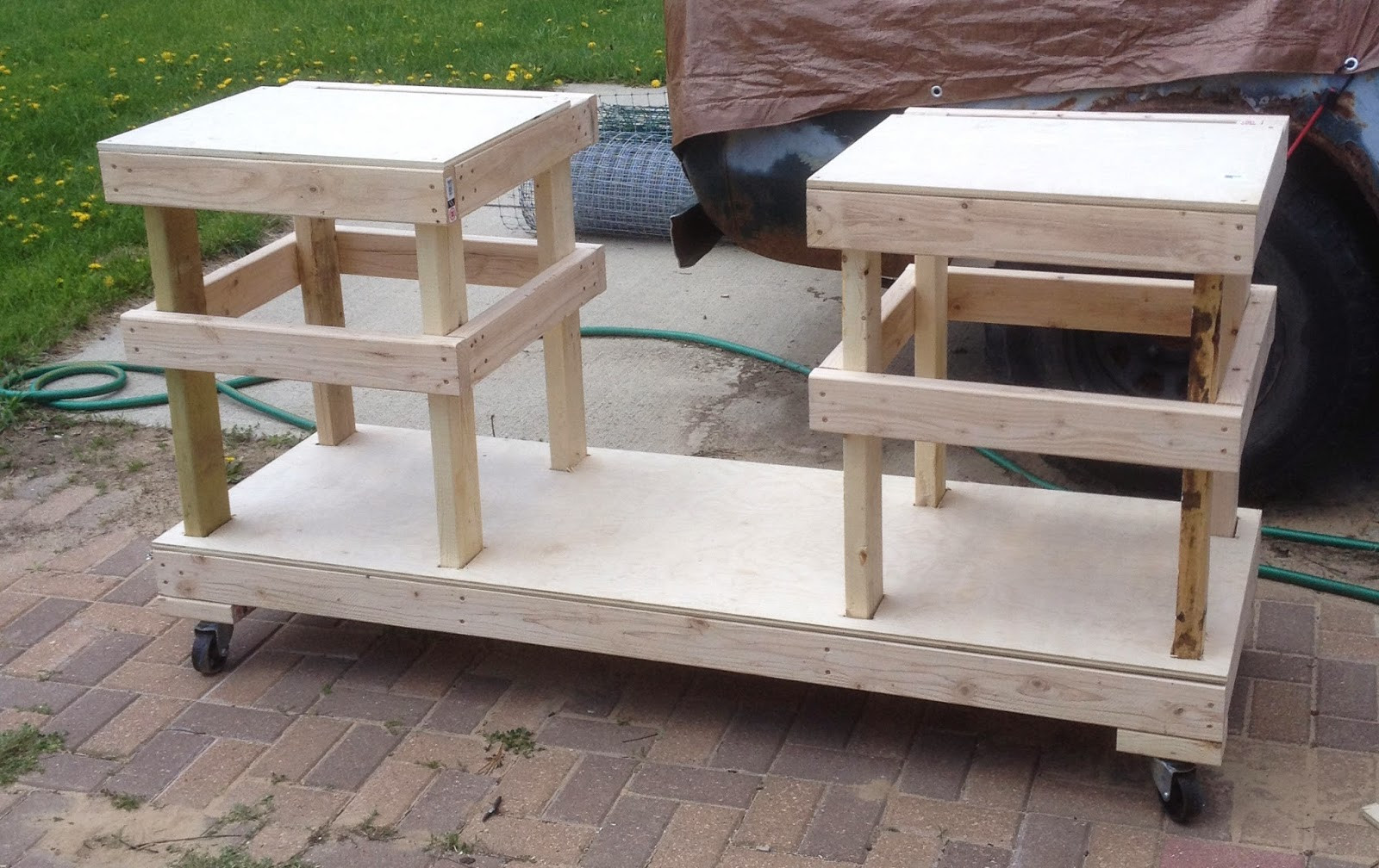 Best ideas about DIY Table Saw Plans . Save or Pin DIY Table Saw Stand on Casters Now.
