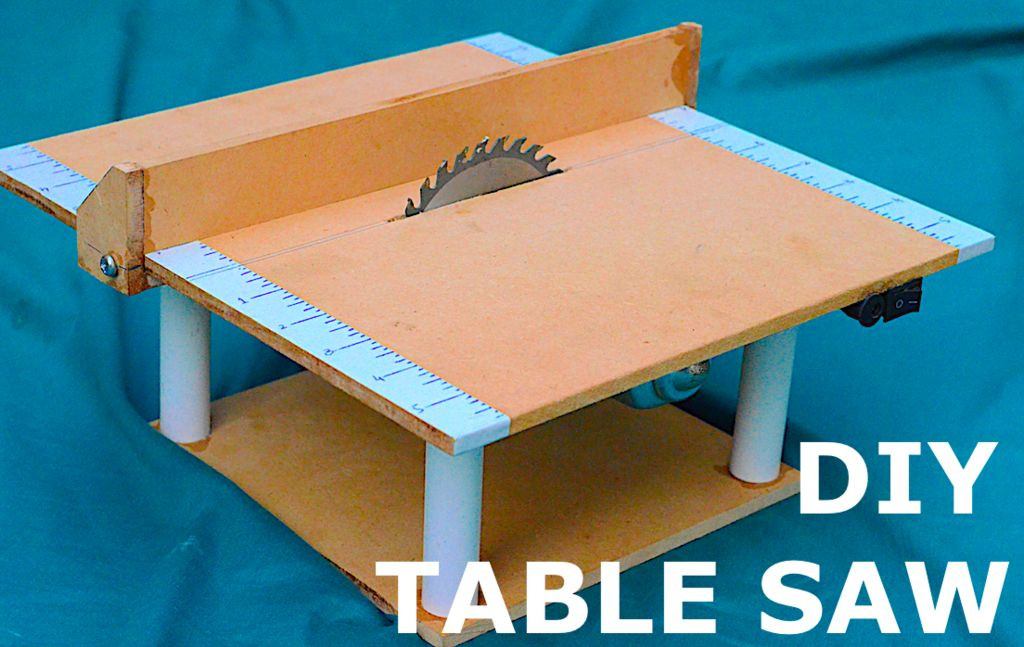 Best ideas about DIY Table Saw Plans . Save or Pin DIY 12v Mini Table Saw 10 Steps with Now.