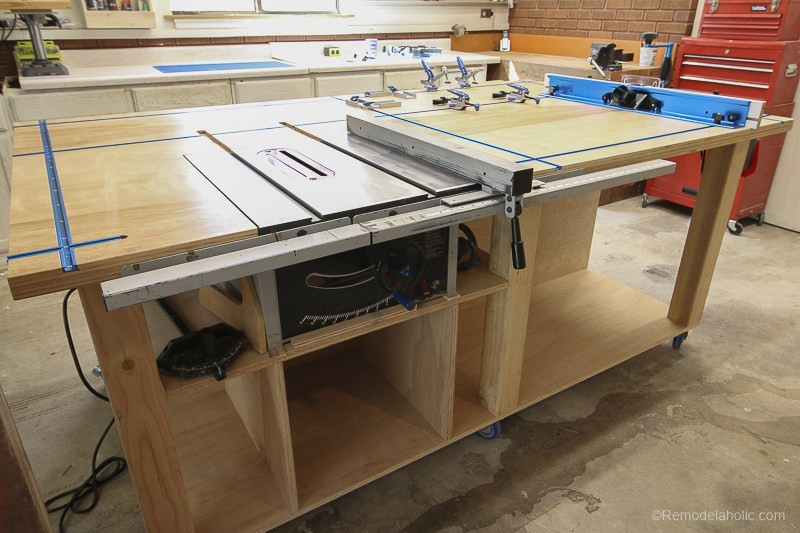 Best ideas about DIY Table Saw Plans . Save or Pin Remodelaholic Now.