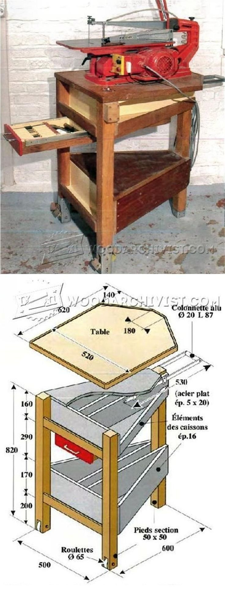 Best ideas about DIY Table Saw Plans . Save or Pin 25 best ideas about Table Saw Stand on Pinterest Now.