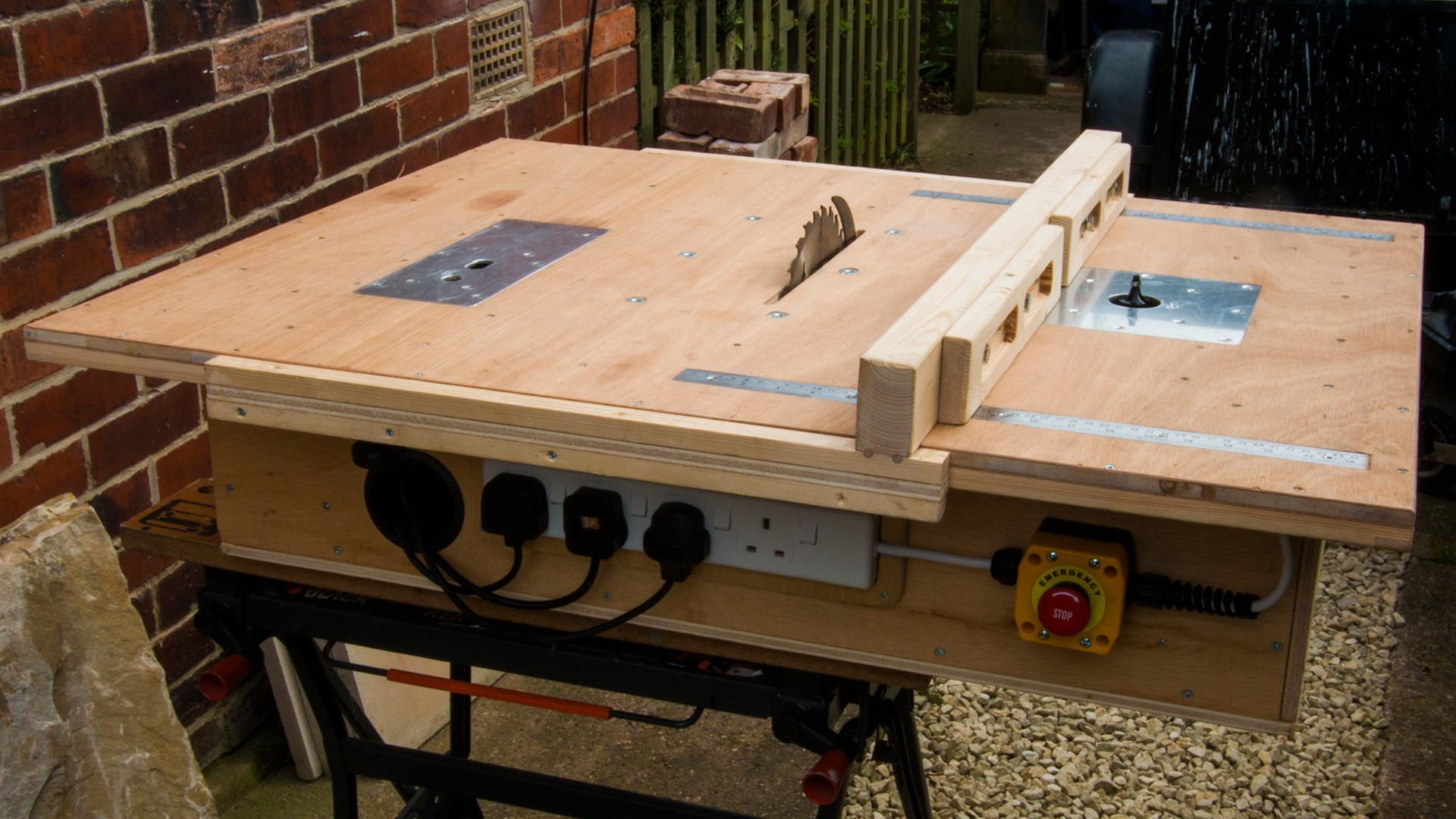 Best ideas about DIY Table Saw Plans . Save or Pin Genius Homemade Table Saw with Router and Jigsaw Now.