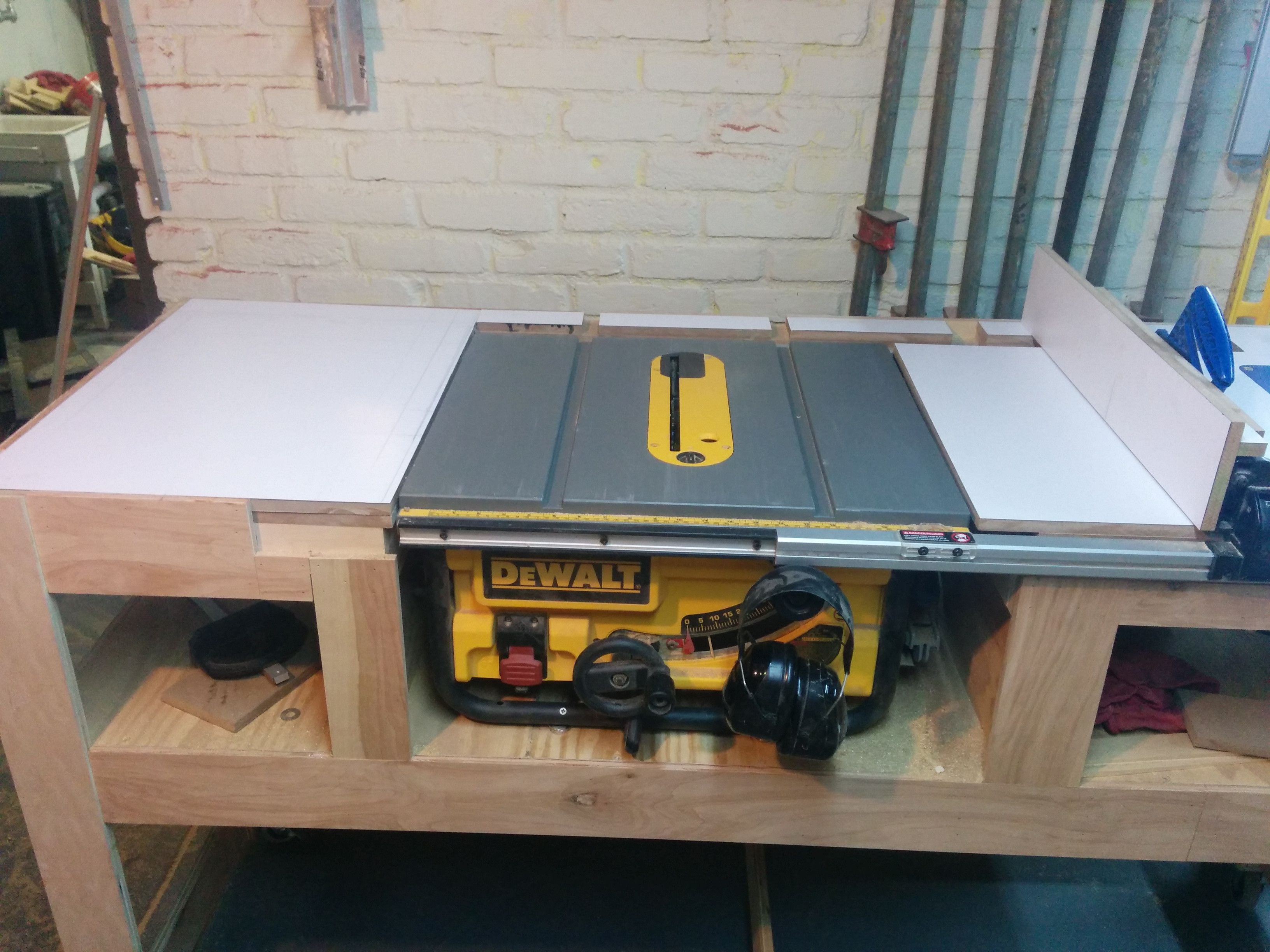 Best ideas about DIY Table Saw Plans . Save or Pin Table saw station in 2019 Do it Now.