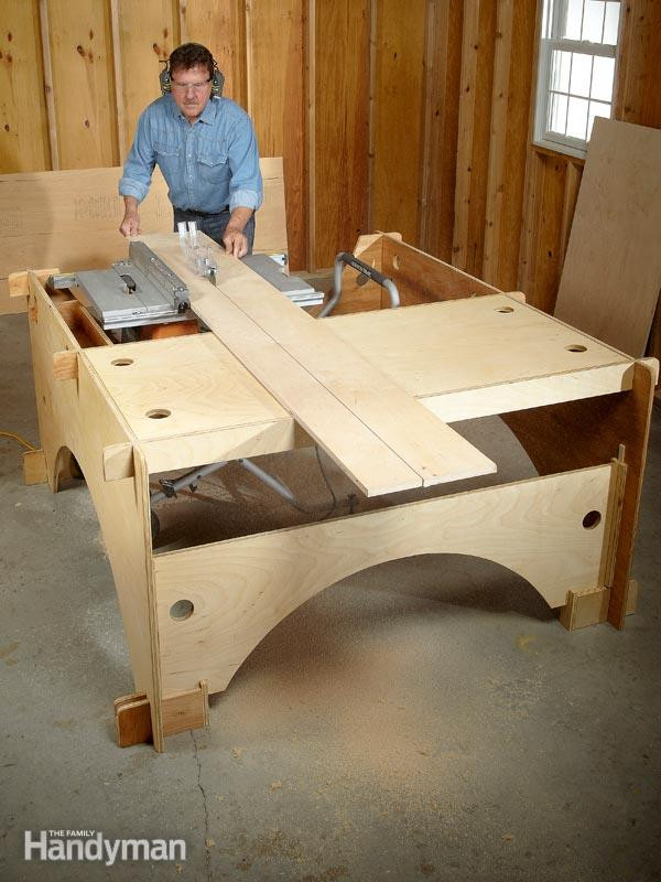 Best ideas about DIY Table Saw Plans . Save or Pin DIY Table Saw Table Now.