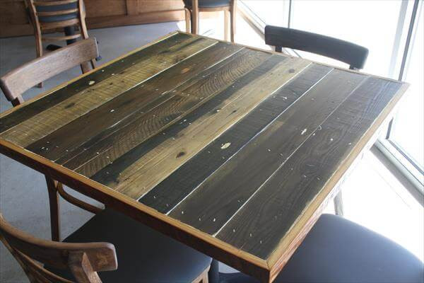 Best ideas about DIY Table Tops . Save or Pin DIY Pallet Table Tops Now.