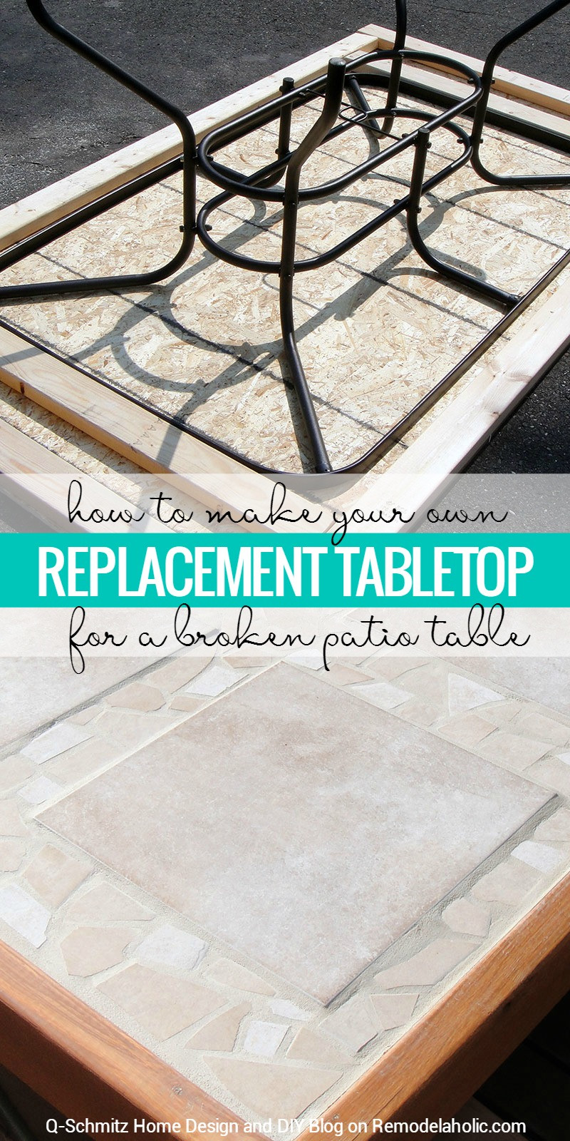 Best ideas about DIY Table Tops . Save or Pin Remodelaholic Now.