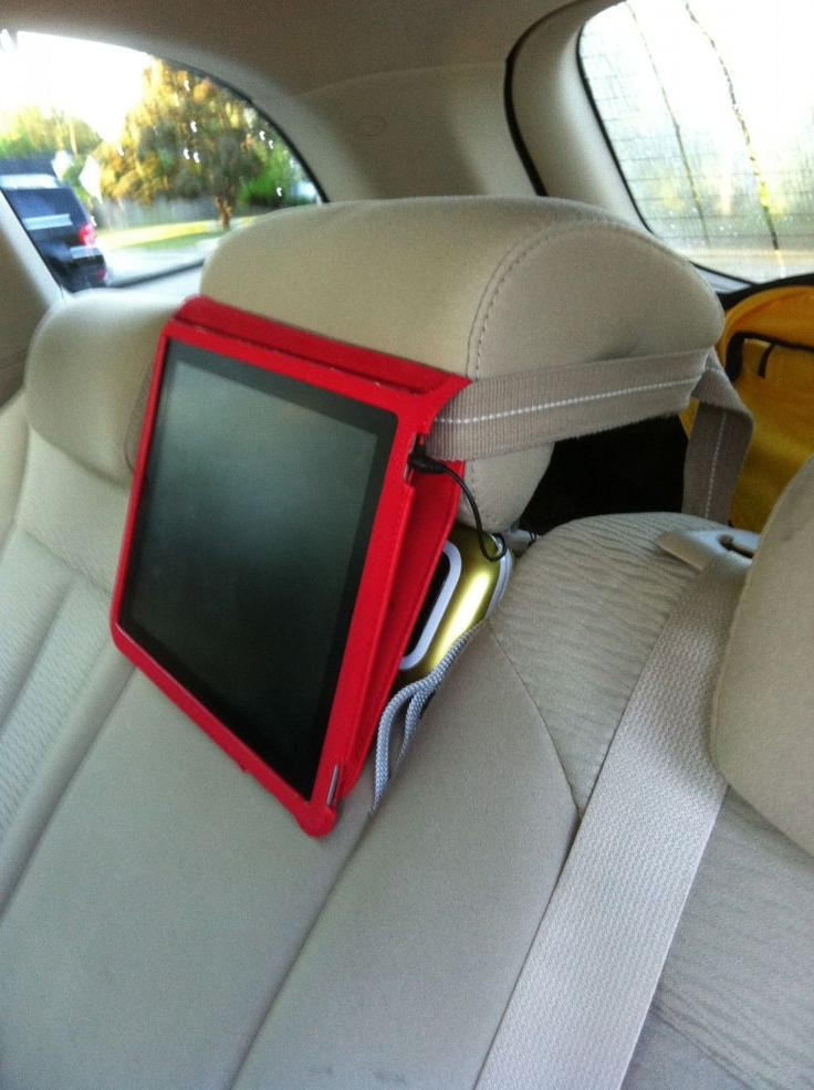 Best ideas about DIY Tablet Headrest Mount . Save or Pin The DIY iPad car mount Great Ideas Now.