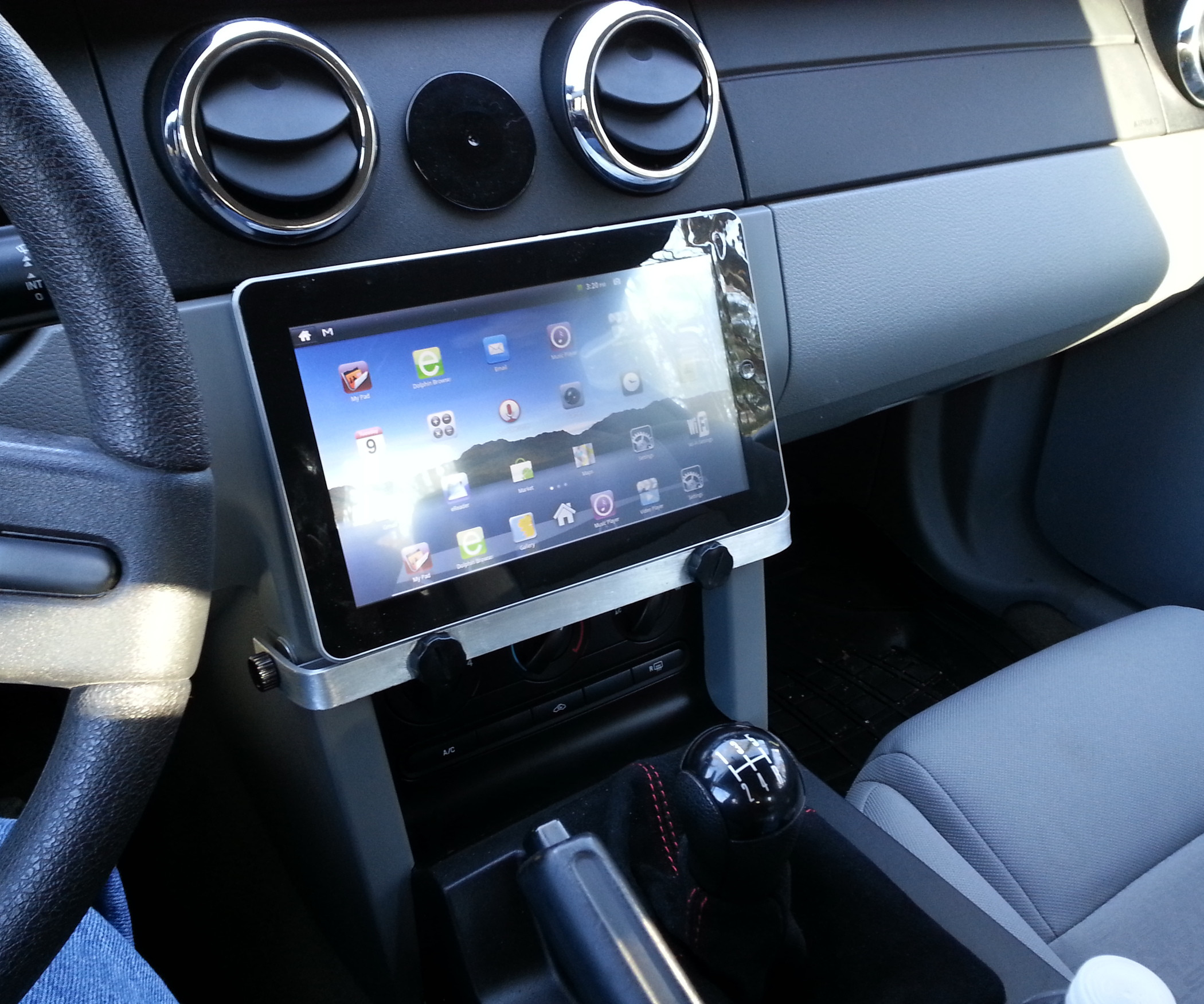 Best ideas about DIY Tablet Headrest Mount . Save or Pin Car Tablet Mount Easy and Cheap All Now.