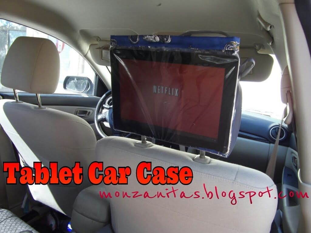 Best ideas about DIY Tablet Headrest Mount . Save or Pin A diy tablet case for watching movies in the car Now.