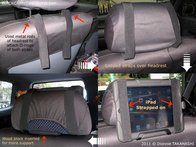 Best ideas about DIY Tablet Headrest Mount . Save or Pin DIY iPad Car Headrest Holder Now.