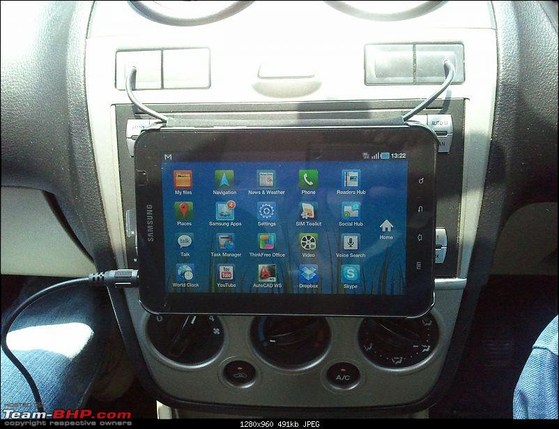 """Best ideas about DIY Tablet Headrest Mount . Save or Pin DIY – 7"""" Tablet PC Mount Team BHP Now."""