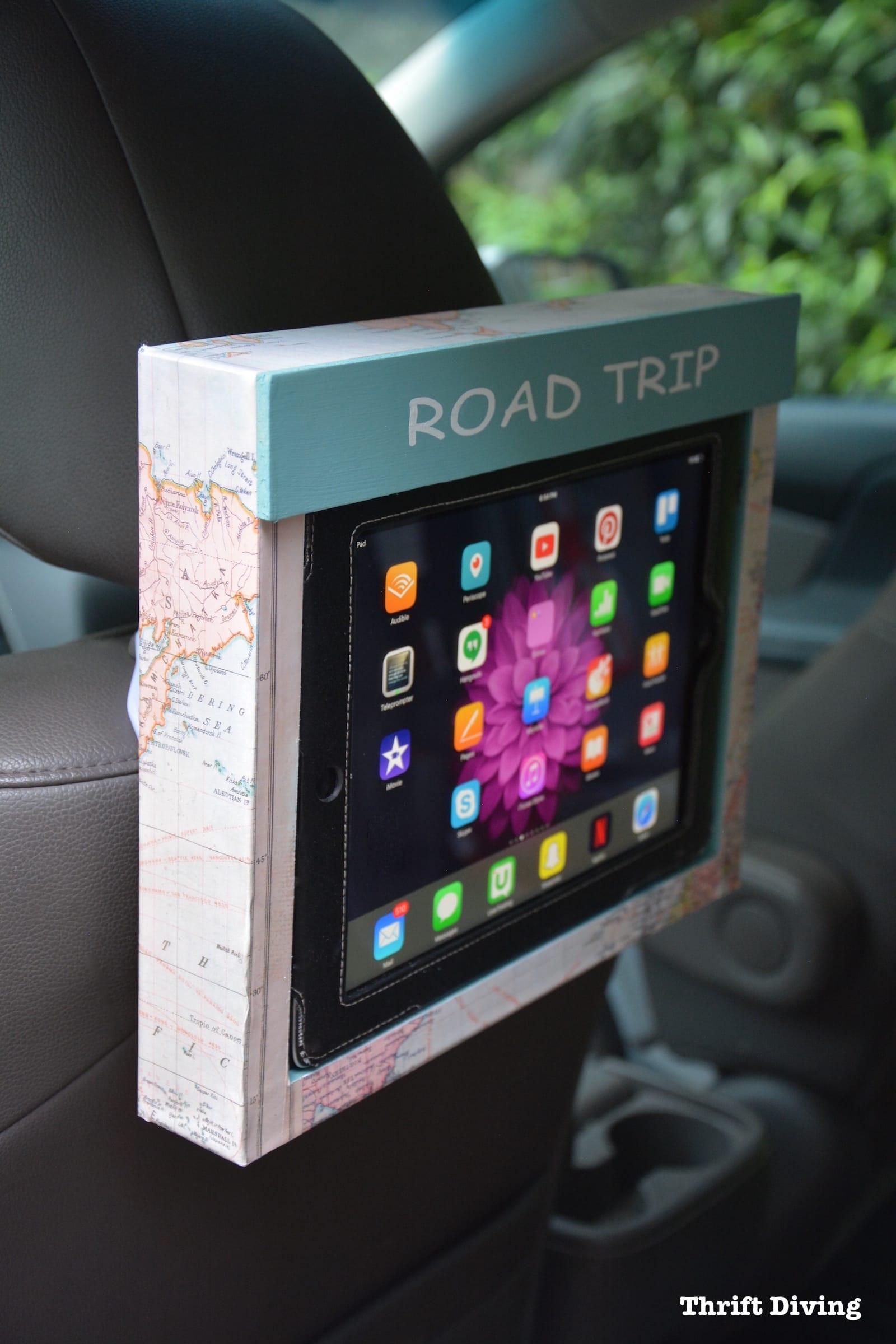Best ideas about DIY Tablet Headrest Mount . Save or Pin Diy Tablet Car Headrest Mount Diy Projects Now.