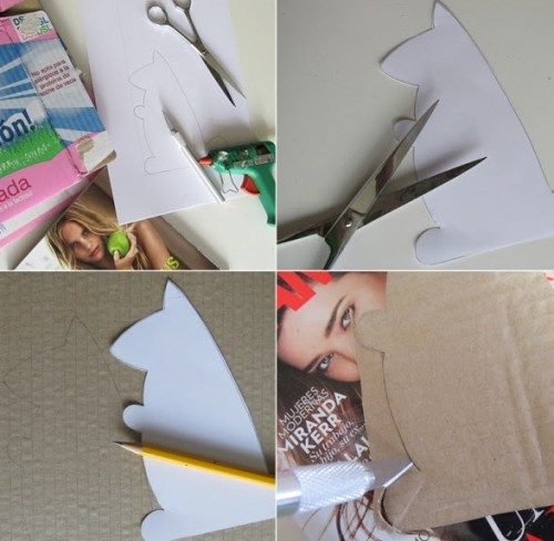 Best ideas about DIY Tablet Stand Cardboard . Save or Pin DIY Cardboard Squirrel Tablet Stand Shelterness Now.