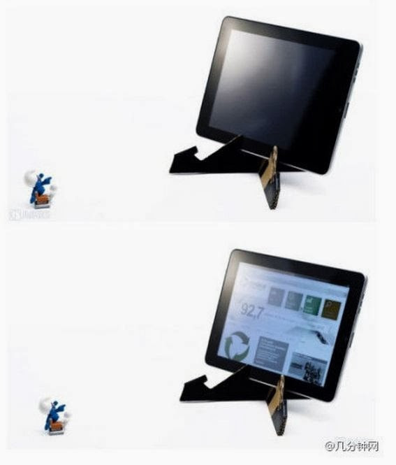Best ideas about DIY Tablet Stand Cardboard . Save or Pin DIY Cardboard Tablet Stand The Idea King Now.