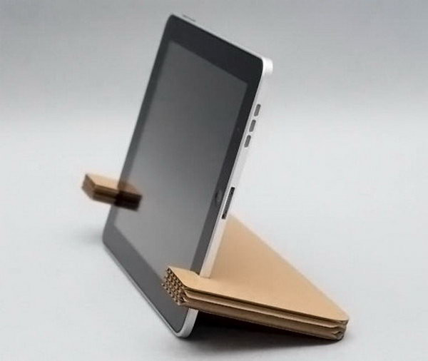 Best ideas about DIY Tablet Stand Cardboard . Save or Pin 25 DIY iPad Stand Ideas and Tutorials Hative Now.