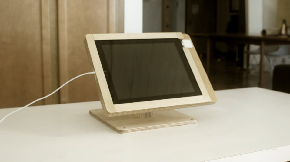 Best ideas about DIY Tablet Stand Wood . Save or Pin The DIY Wood iPad Stand that Screams Style Prevents Tablet Now.
