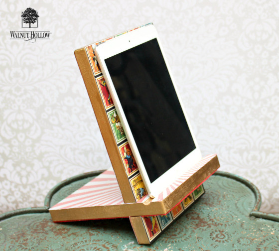 Best ideas about DIY Tablet Stand Wood . Save or Pin DIY Tablet Stand Now.