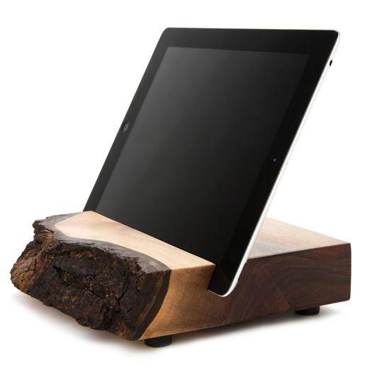 Best ideas about DIY Tablet Stand Wood . Save or Pin Joli et simple Support de tablette en bois Wood iPad Now.