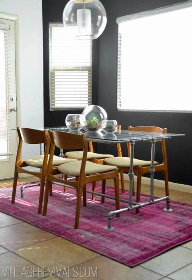 Best ideas about DIY Tabletop Ideas . Save or Pin 16 Awesome DIY Dining Table Ideas Now.