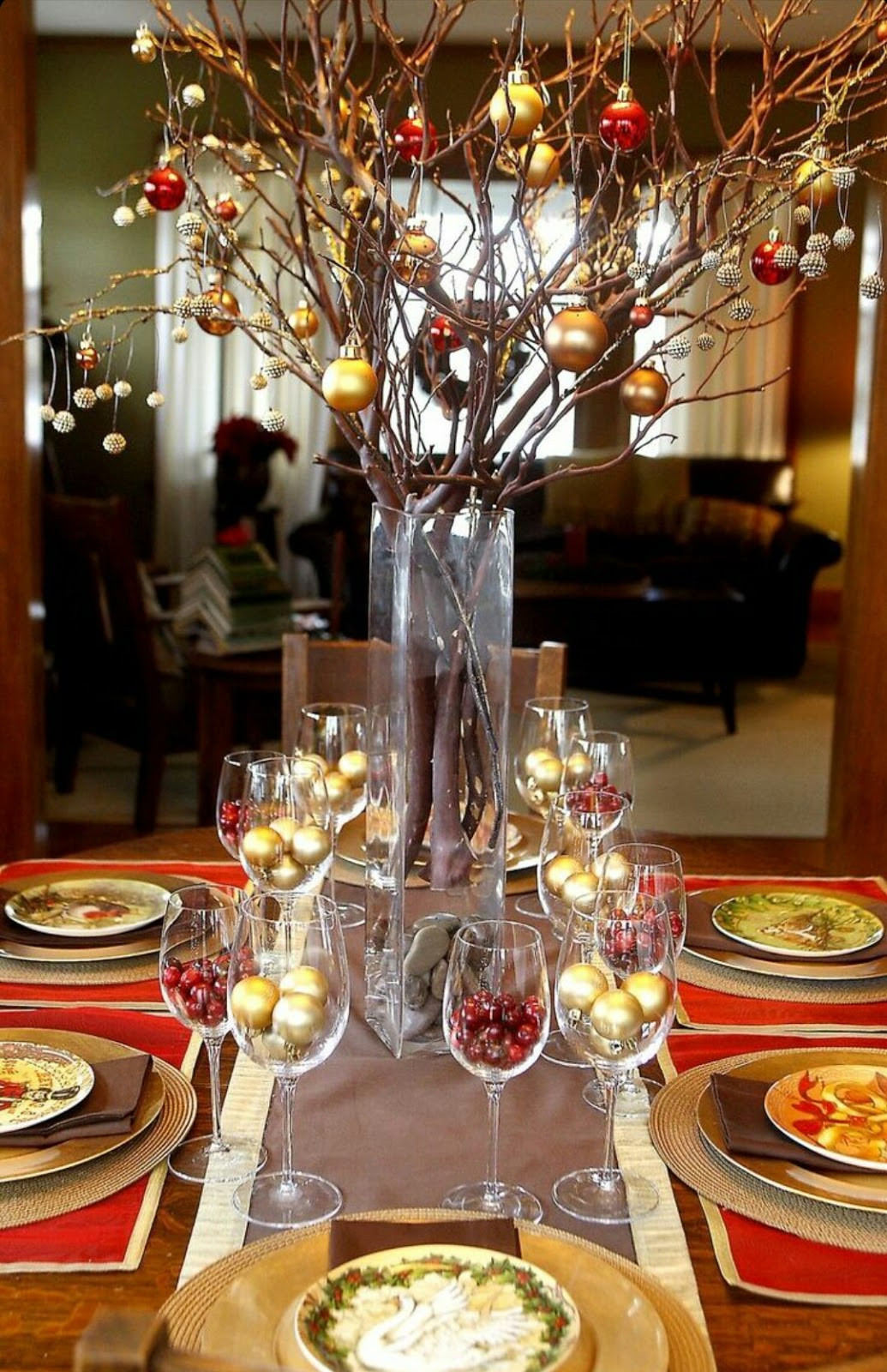 Best ideas about DIY Tabletop Ideas . Save or Pin 50 Best DIY Christmas Table Decoration Ideas for 2019 Now.