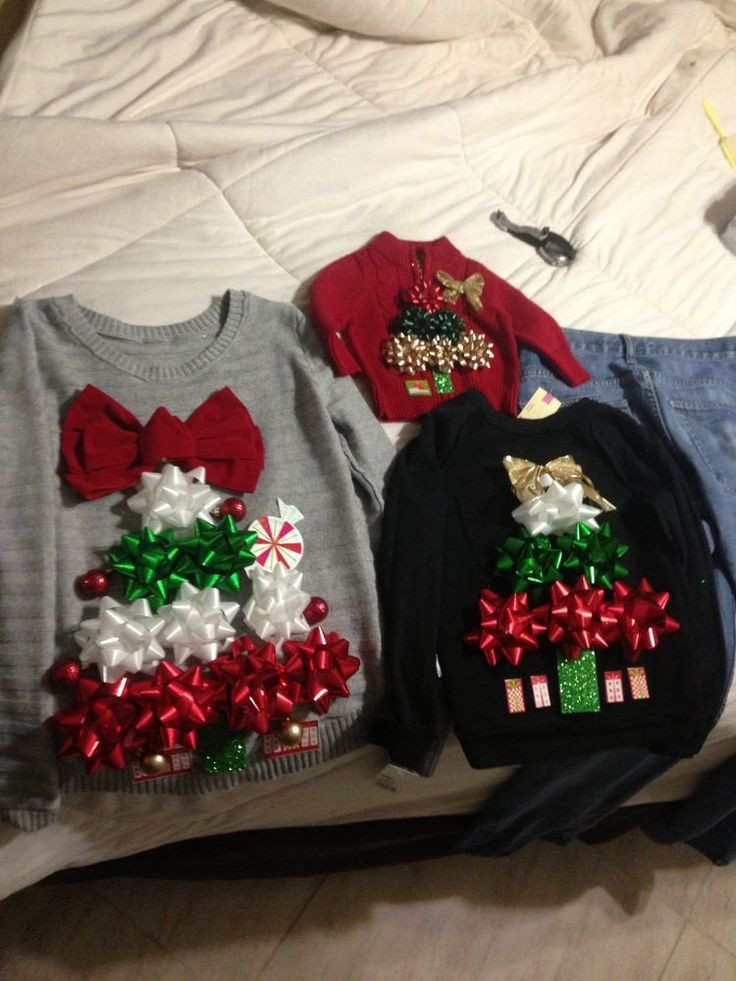 Best ideas about DIY Tacky Christmas Sweaters . Save or Pin 93 best Gulp DIY images on Pinterest Now.
