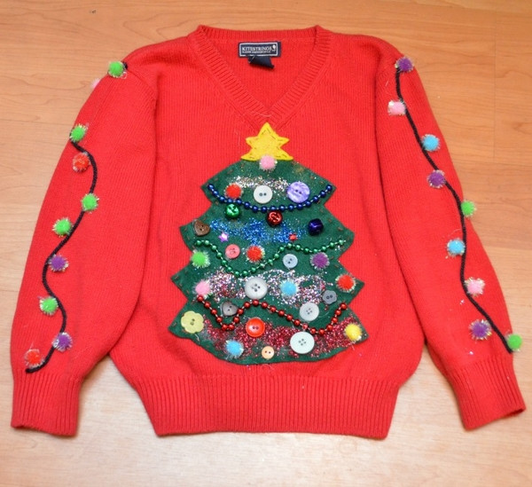 Best ideas about DIY Tacky Christmas Sweaters . Save or Pin 40 Ugly Christmas sweater ideas –jump into the festive Now.