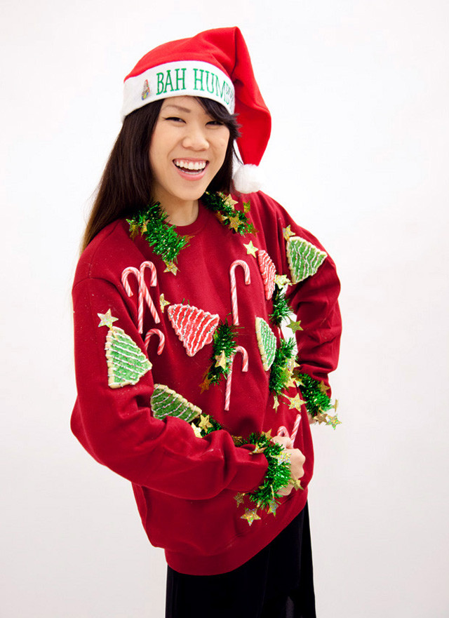 Best ideas about DIY Tacky Christmas Sweaters . Save or Pin DIY Ugly Holiday Sweater Now.