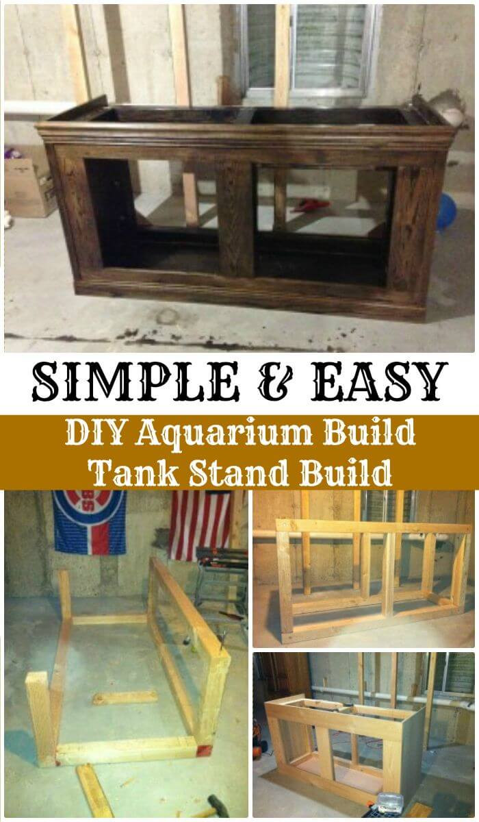 Best ideas about DIY Tank Stand . Save or Pin 23 DIY Aquarium Stand Plans DIY & Crafts Now.