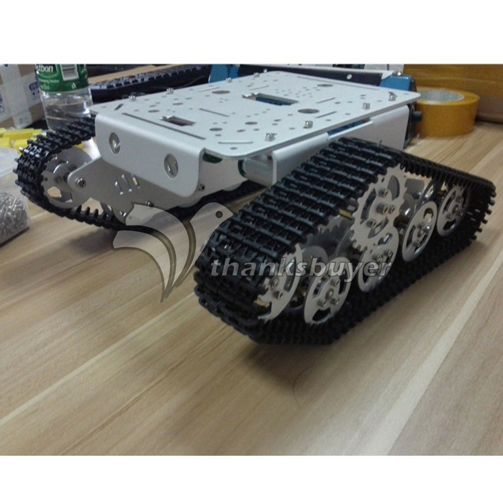 Best ideas about DIY Tank Track . Save or Pin Tank Track Caterpillar Car Chassis Metal Tracked Crawler Now.