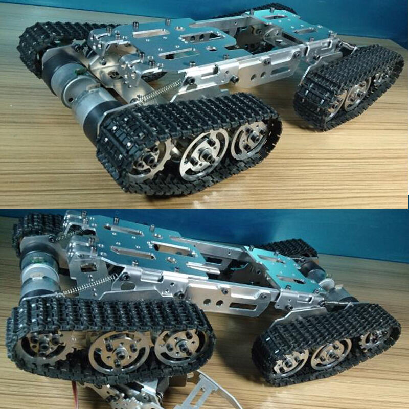 Best ideas about DIY Tank Track . Save or Pin Metal ATV Track Robot Tank Chassis suspension obstacle Now.