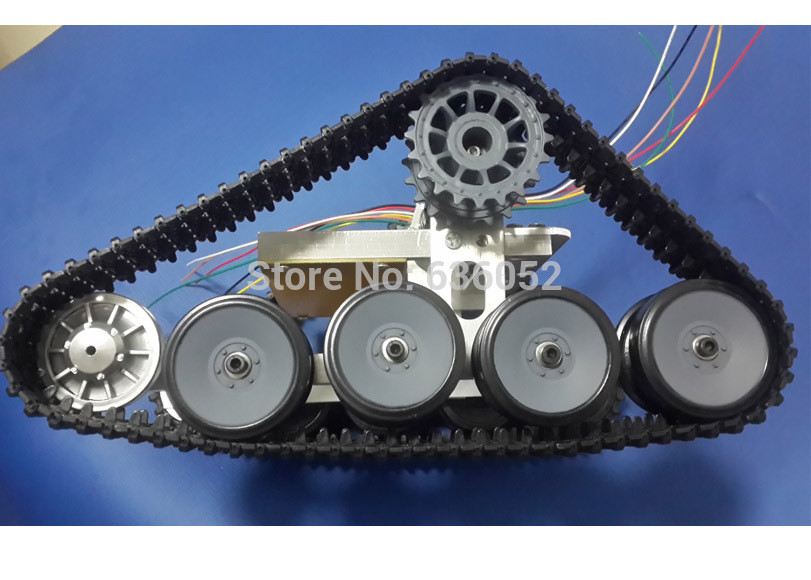Best ideas about DIY Tank Tracks . Save or Pin RC tank chassis robot caterpillar track Crawler Barrowload Now.