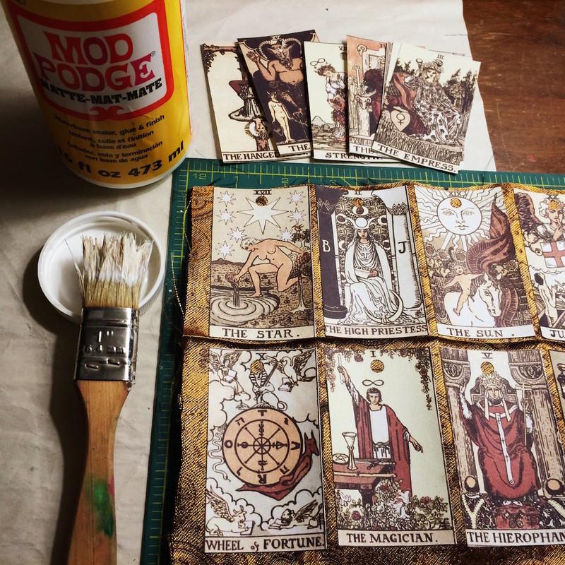 Best ideas about DIY Tarot Cards . Save or Pin Get Crafty DIY Autumn Tarot Garland Interrobang Tarot Now.