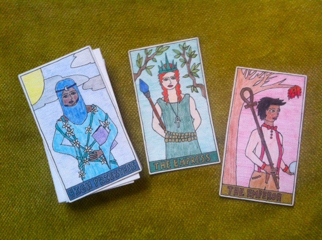 Best ideas about DIY Tarot Cards . Save or Pin DIY or make your own tarot deck Little Red Tarot Now.