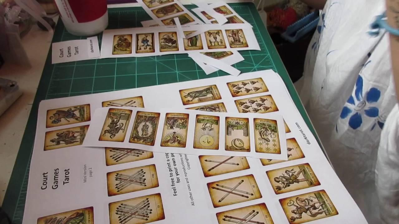 Best ideas about DIY Tarot Cards . Save or Pin DIY Mini Tarot Deck Now.