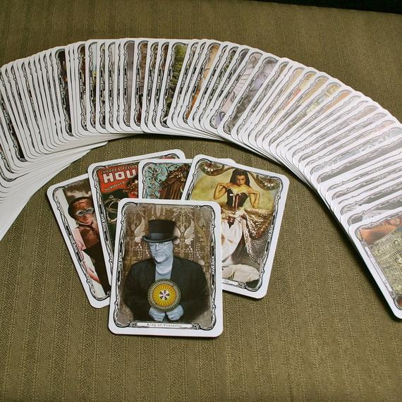 Best ideas about DIY Tarot Cards . Save or Pin Steampunk Tarot Deck DIY Instant DOWNLOAD Tabloid Size Now.