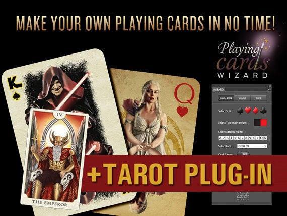 Best ideas about DIY Tarot Cards . Save or Pin Playing Cards Wizard Tarot PlugIn DIY Now.