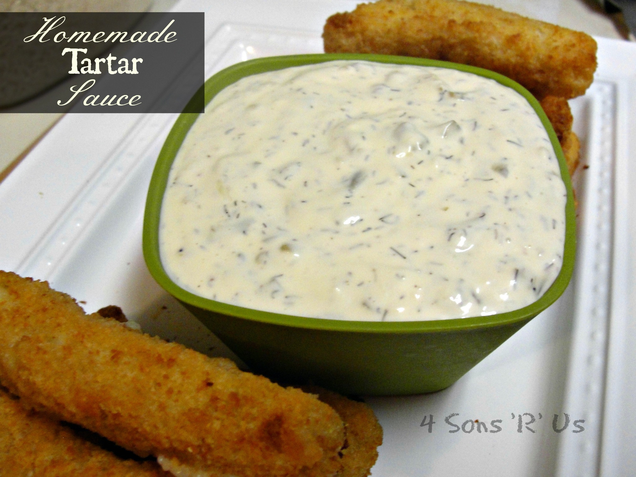 Best ideas about DIY Tartar Sauce . Save or Pin Homemade Tartar Sauce Now.