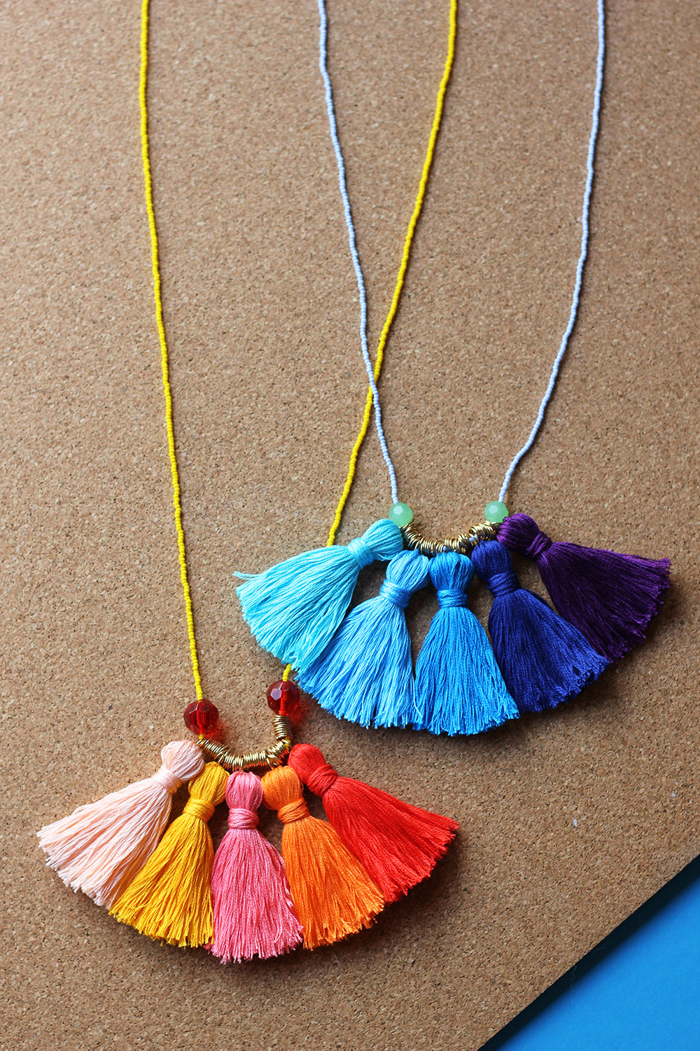 Best ideas about DIY Tassel Necklaces . Save or Pin DIY Ombré Tassel Necklace Now.