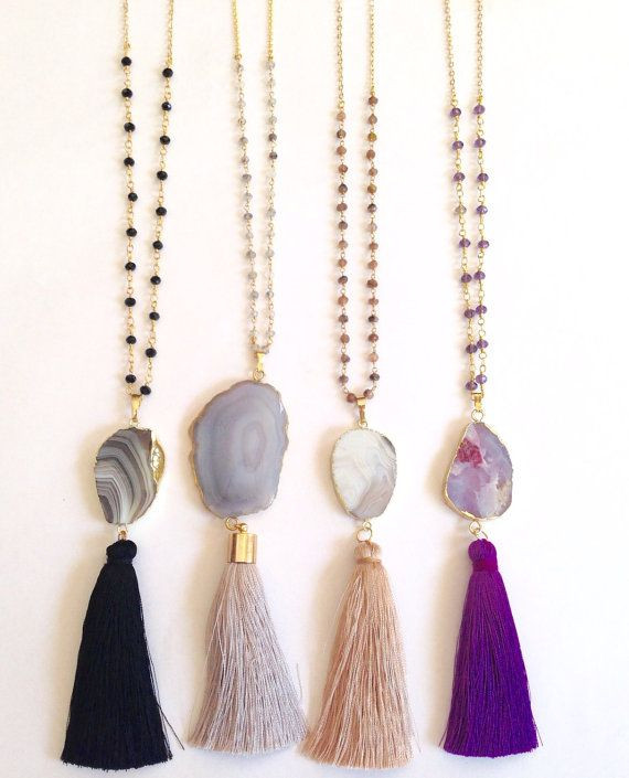 Best ideas about DIY Tassel Necklaces . Save or Pin Best 25 Tassel necklace ideas on Pinterest Now.
