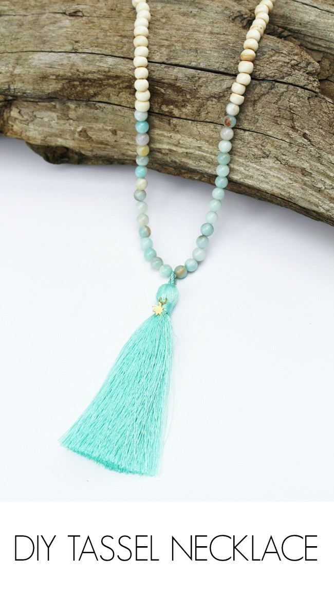 Best ideas about DIY Tassel Necklaces . Save or Pin DIY Tassel Necklace artzycreations Now.