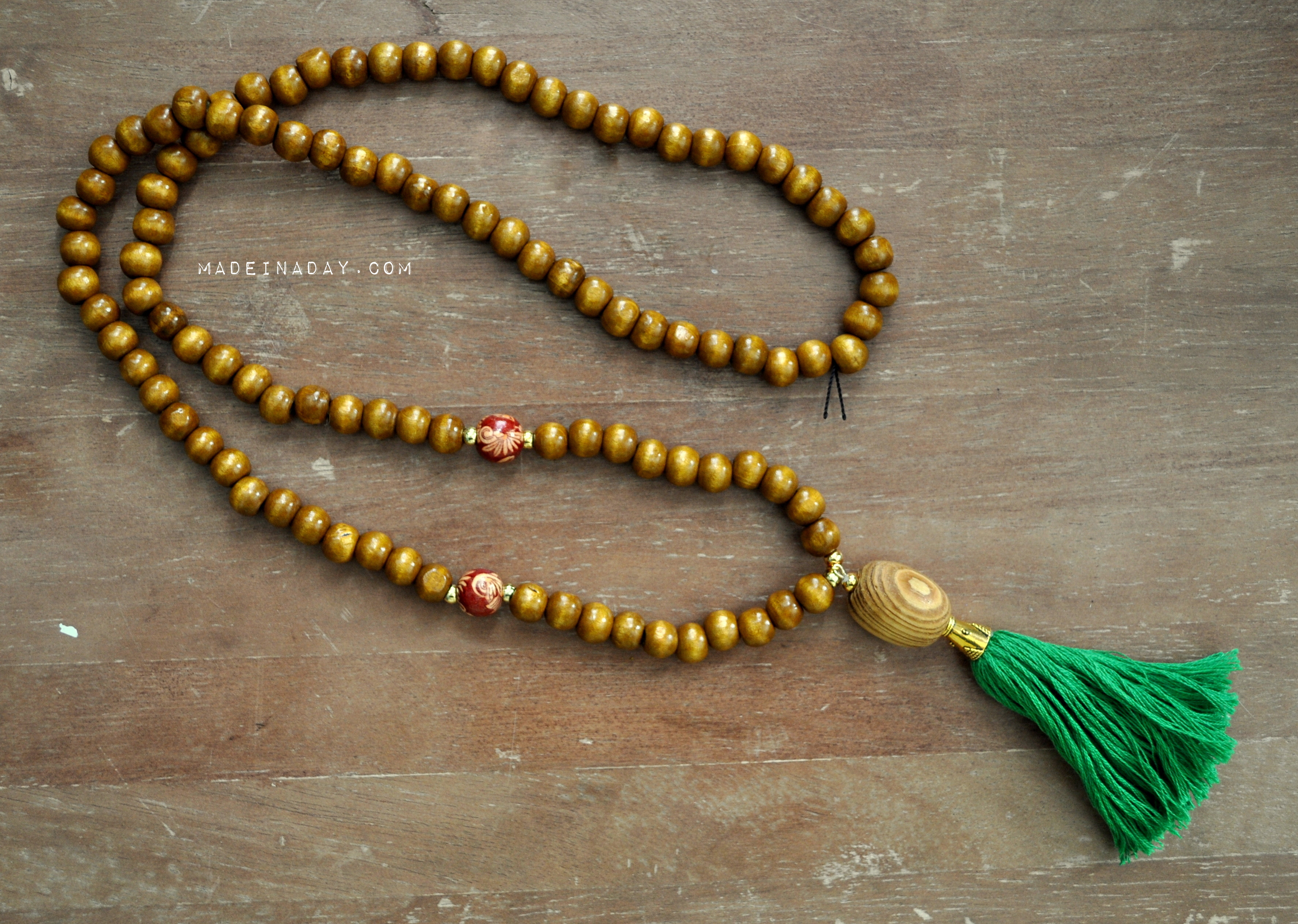 Best ideas about DIY Tassel Necklaces . Save or Pin How to Make DIY Beaded Tassel Necklaces Now.