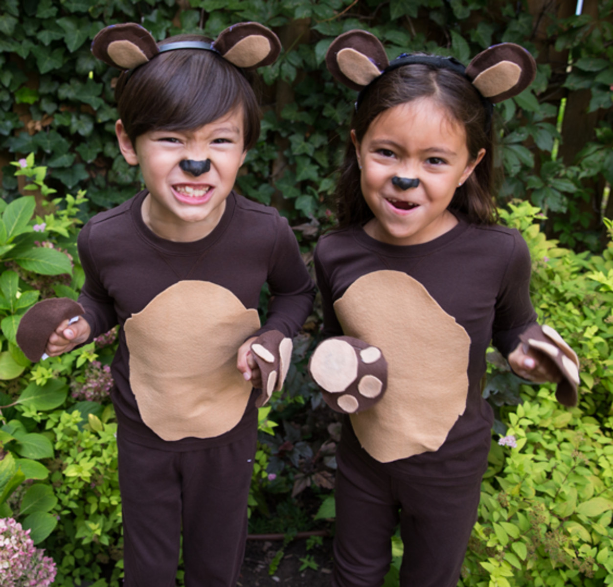 Best ideas about DIY Teddy Bear Costume . Save or Pin Recreate this easy DIY kids bear costume by starting with Now.
