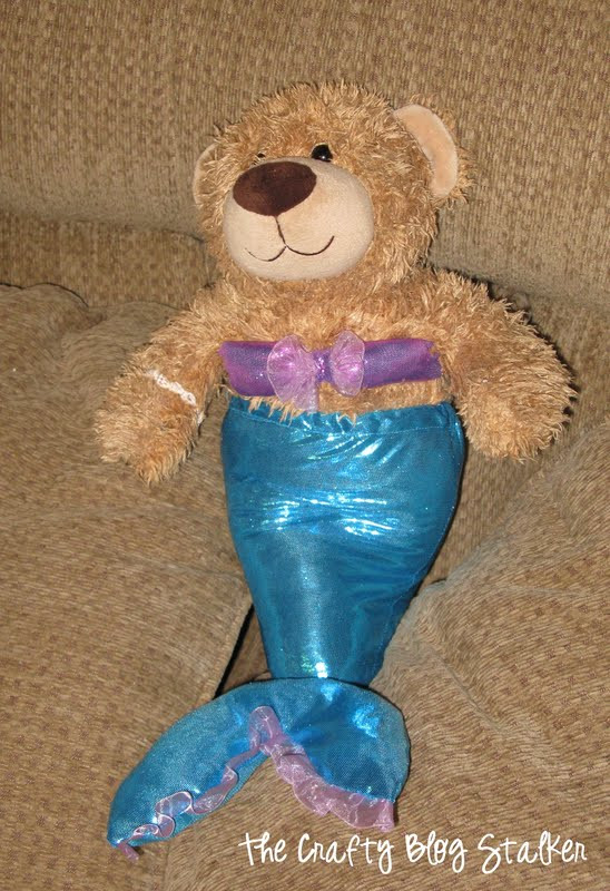 Best ideas about DIY Teddy Bear Costume . Save or Pin How to Make a Build a Bear Mermaid Costume The Crafty Now.