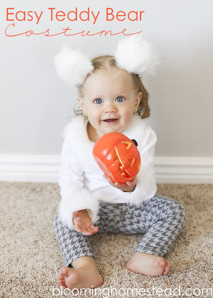 Best ideas about DIY Teddy Bear Costume . Save or Pin Handmade Teddy Bear Costume Blooming Homestead Now.