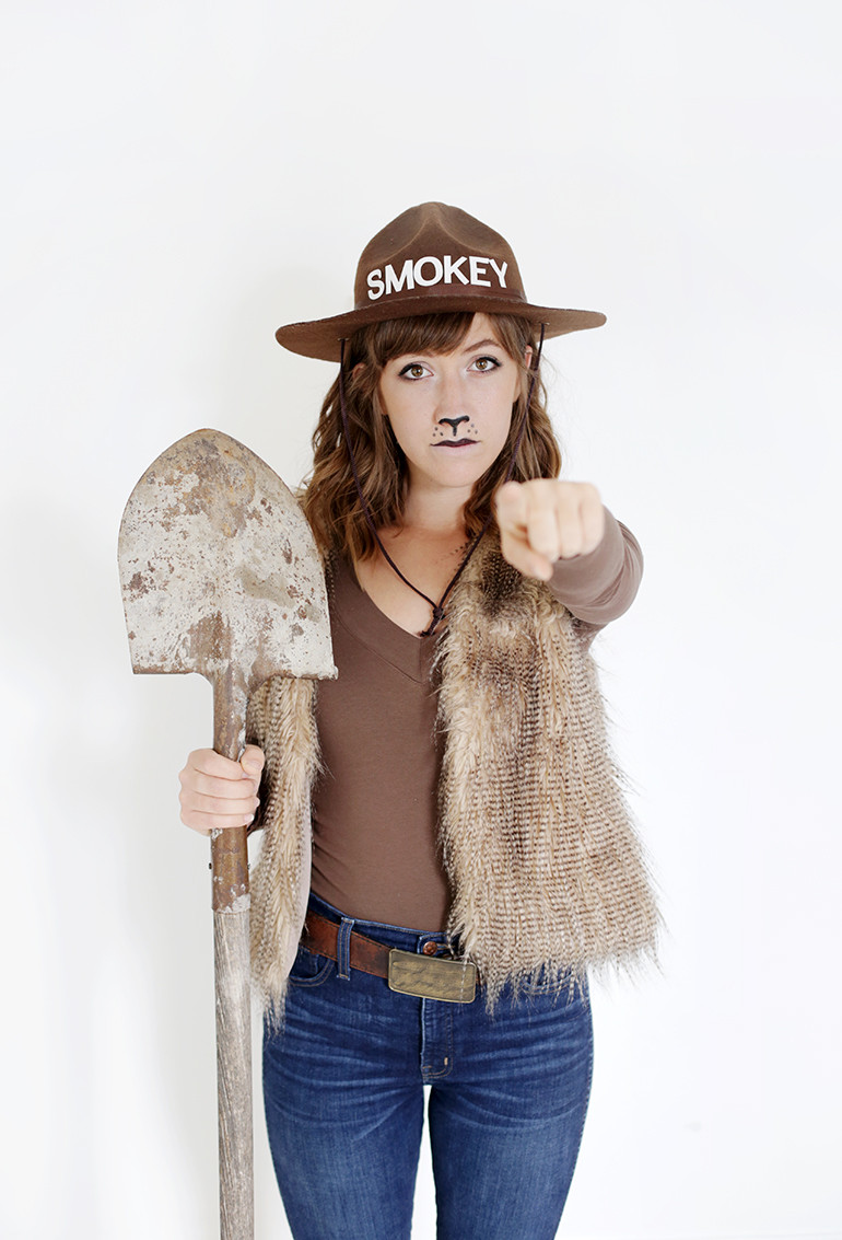 Best ideas about DIY Teddy Bear Costume . Save or Pin DIY Smokey Bear Costume The Merrythought Now.