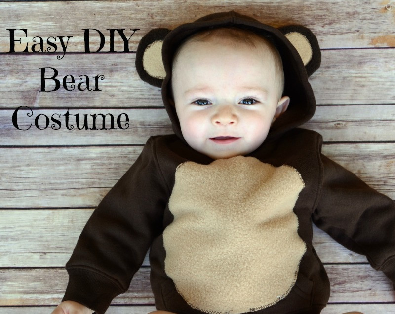 Best ideas about DIY Teddy Bear Costume . Save or Pin Easy DIY Infant Bear Costume Now.