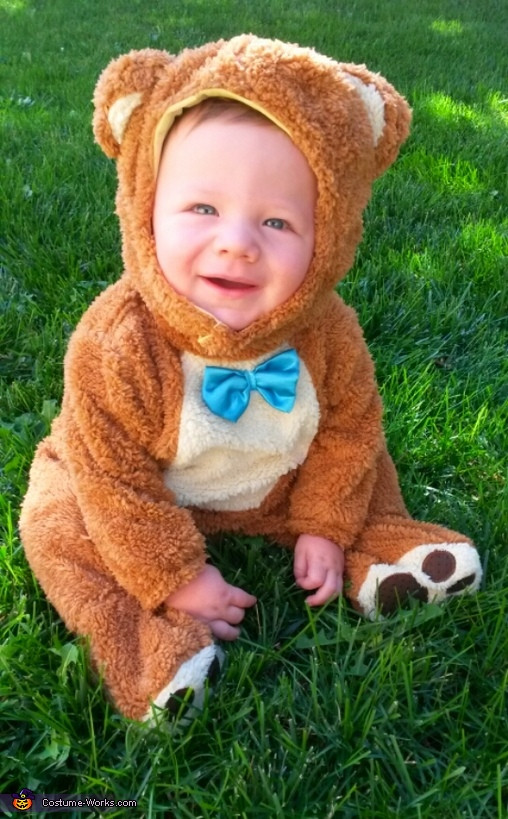 Best ideas about DIY Teddy Bear Costume . Save or Pin Diy Baby Bear Costume Now.