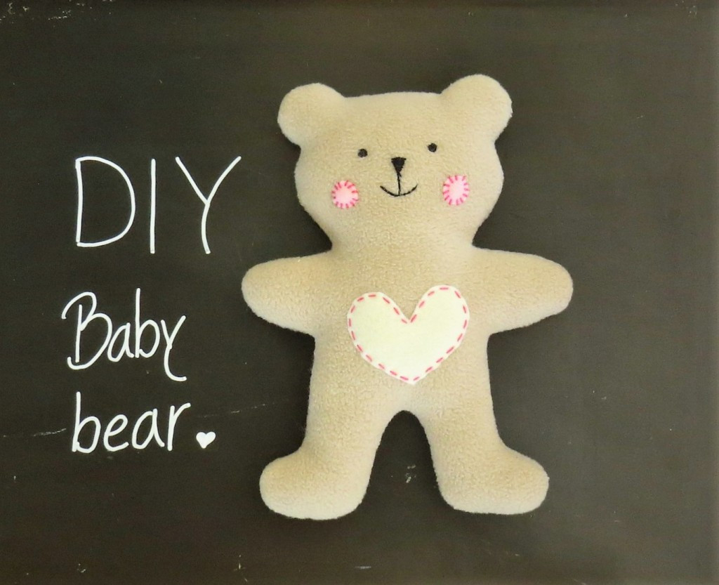 Best ideas about DIY Teddy Bear . Save or Pin HOW TO SEW QUICKLY A CUTE LITTLE SOFT BABY TEDDY BEAR Now.
