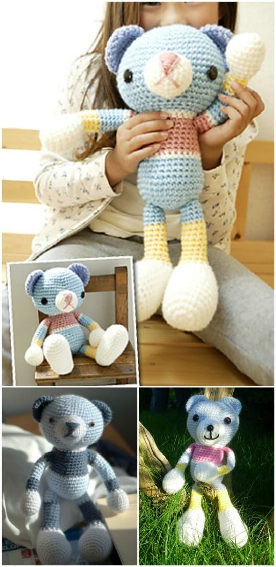 Best ideas about DIY Teddy Bear . Save or Pin 100 Free Crochet Patterns That Are Perfect For Beginners Now.