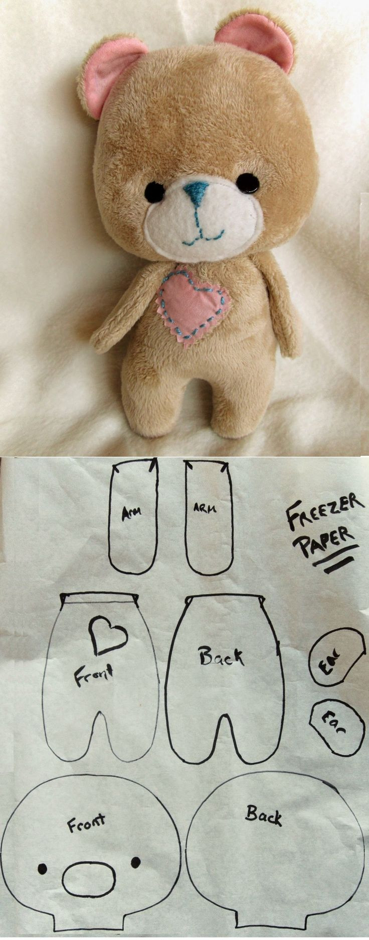 Best ideas about DIY Teddy Bear . Save or Pin Best 25 Bear patterns ideas on Pinterest Now.