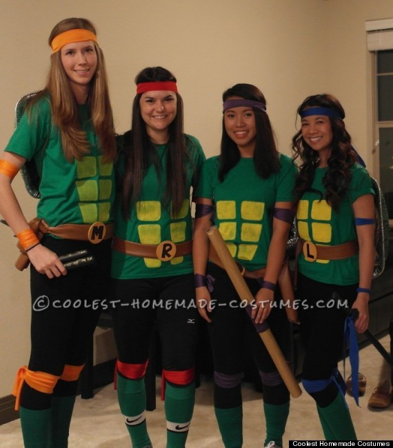 Best ideas about DIY Teenage Mutant Ninja Turtle Costume . Save or Pin 10 Perfect Halloween Costumes For You And Your BFFs Now.